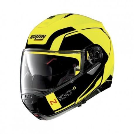 Nolan casco N100-5 Consistency N-com - Led Yellow