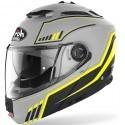 Airoh Phantom S Beat flip up helmet - Yellow Matt