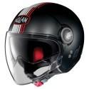 Nolan N21 Visor Joie De Vivre jet helmet - 35 Flat Black