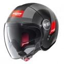 Nolan N21 Visor Spheroid jet helmet - 51 Flat Black