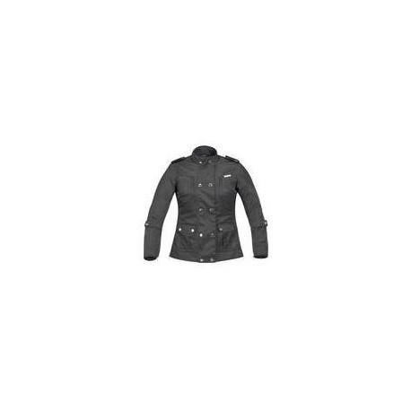 Alpinestars giacca in pelle Stella Lux nero