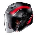 Nolan N40-5 Resolute N-Com jet helmet - 17 Flat Black