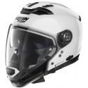 Nolan N70-2 Gt Classic N-Com modular helmet -5 Metal White