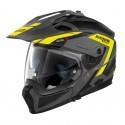 Nolan casco componibile N70-2 X Grandes Alpes N-Com - 23 Flat Lava Grey