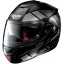 Nolan N90-2 Euclid N-Com flip up helmet - 26 Flat Black